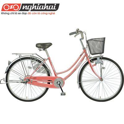 Xe-đạp-mini-Nhật-CAT2611-hong