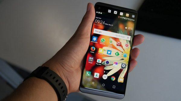 hiển thị màn hình LG V20