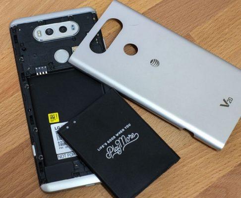 pin tháo rời LG V20