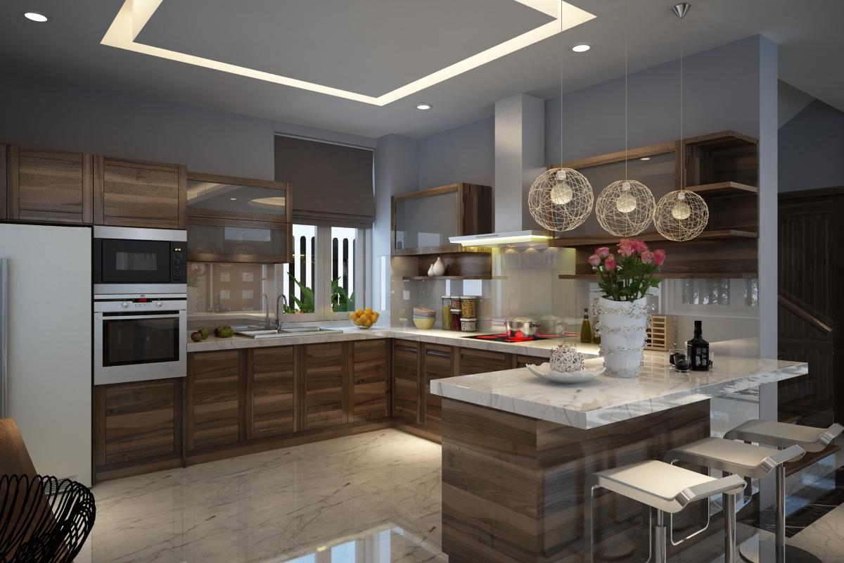 không gian nội thất phòng bếp đẹp cho những bà nội trợ đảm đang - Thiết kế phòng ngủ đẹp, sang trọng, ấn tượng