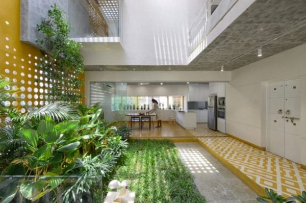 Phong cách thiết kế nội thất hài hoà với thiên nhiên