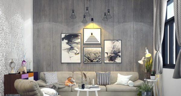 Thiết kế nội thất với gam màu trung tính được ưa chuộng nhất năm 2019