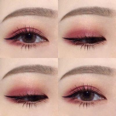 Đánh phấn mắt 2 màu