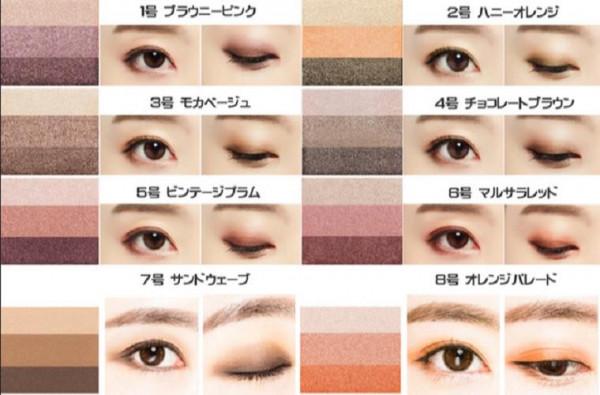 Đánh phấn mắt 3 màu